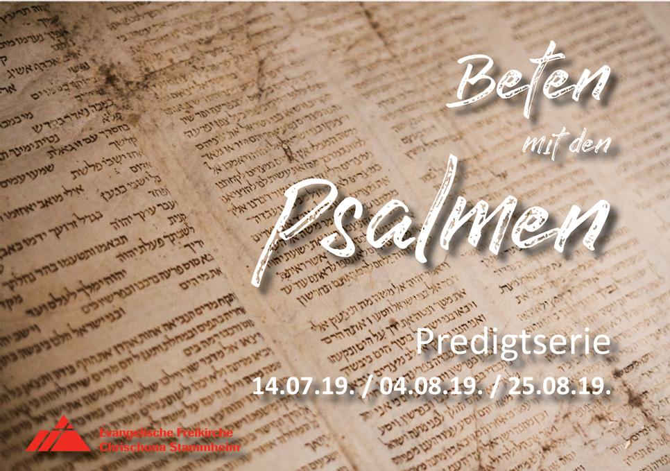 Psalm 1: Mit Gott verbunden